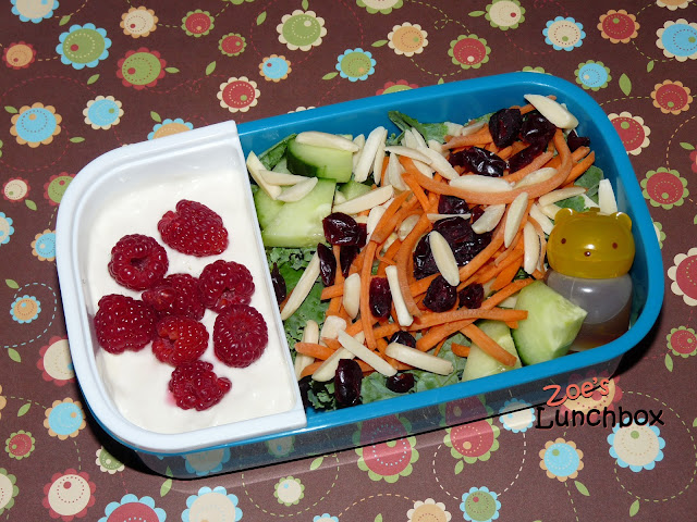 kale salad bento