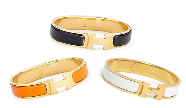 Hermes Bracelet Enamel4