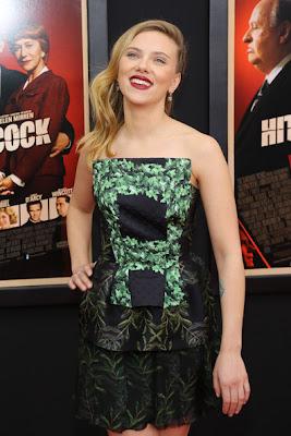 Scarlett Johansson Hitchcock Premiere