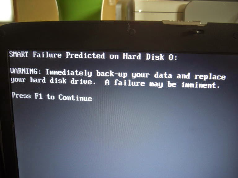 ERROR SMART FAILURE Solucion
