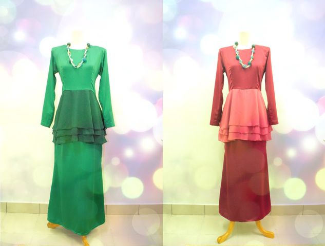 Memories Take Back Dreams Forward The Peplum Kurung