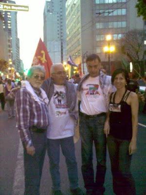 Ato histórico em São Paulo pelo Estado da Palestina Já - foto 15