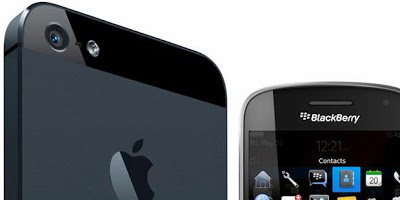 BlackBerry 10 vs iPhone 5