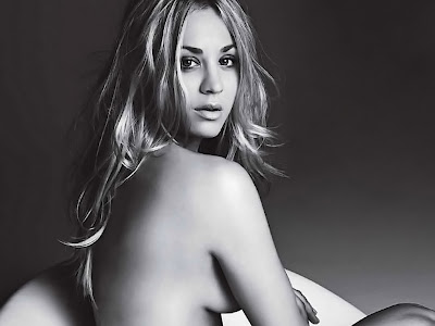 Kaley Cuoco beauty nude in Allure magazine photo shoot