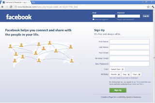 كيفية دخول الفيس بوك