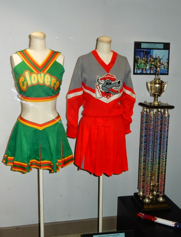 Bring It On and Fast Times at Ridgemont High cheerleader uniforms