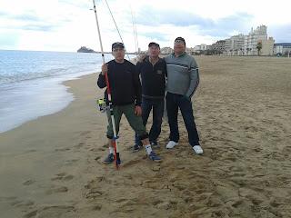 surfcasting en peñiscola