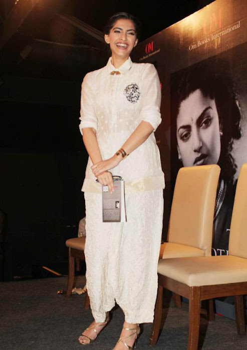 sonam at khalid mohammed book launch hot images
