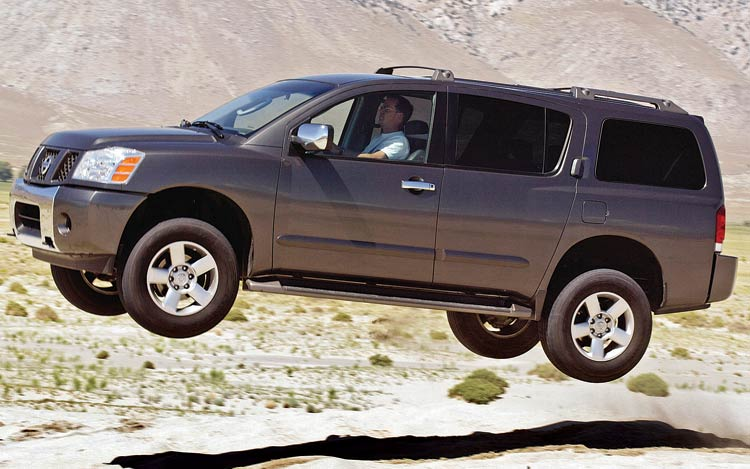 Suvs And Trucks New 2012 Nissan Armada Suv Review