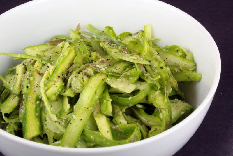 Raw Asparagus Salad | Generation Y Foodie