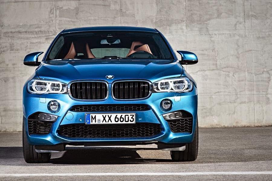 BMW X6 M (2015) Front