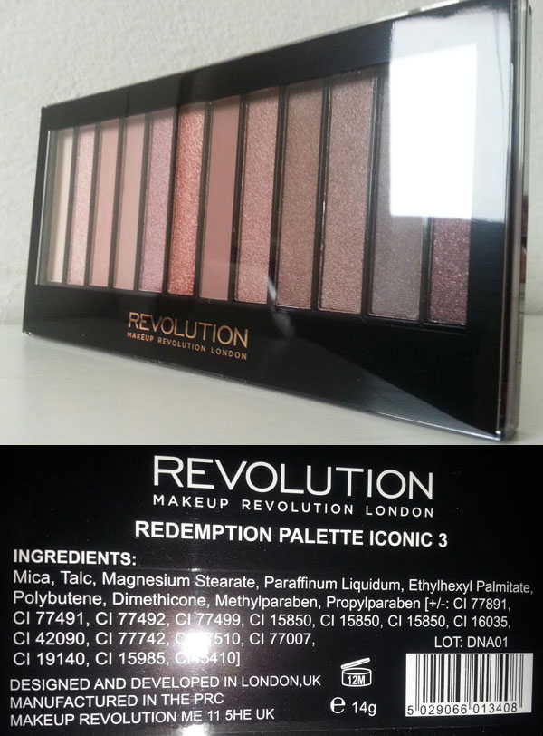 Makeup Revolution - Redemption Palette Iconic 3