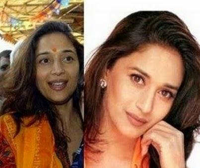 Madhuri dixit without makeup photo-wallpapers
