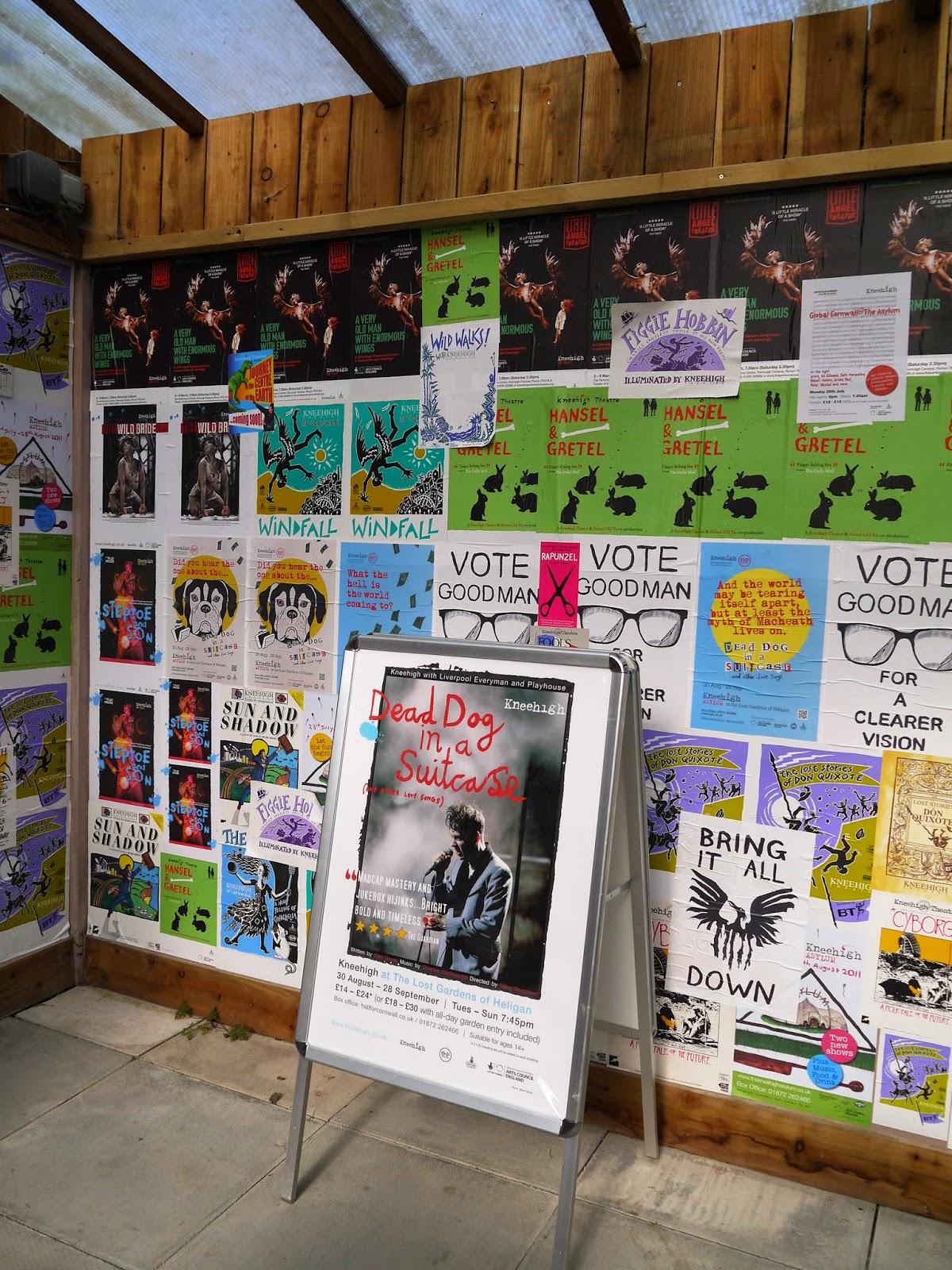Kneehigh Asylum Posters