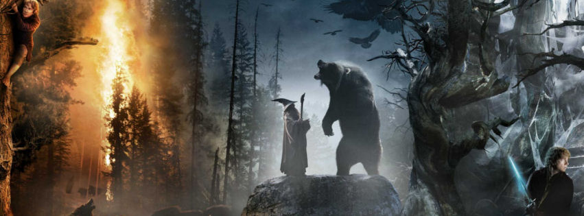 The hobbit 2012 movie facebook cover