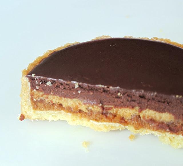 Pâtisserie Pain de sucre - tartelette Sarkozy chocolat-fève tonka