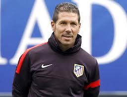 Diego Pablo Simeone entrenador del Atlético de Madrid