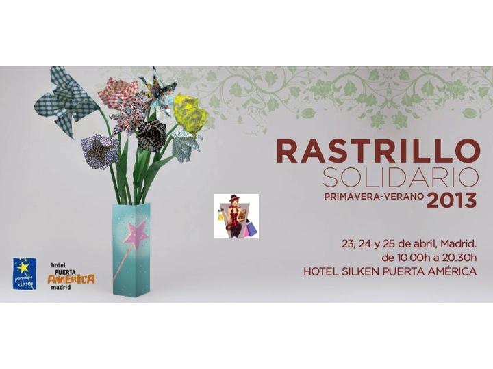 Rastrillo Solidario de Hoss Intropia Primavera Verano 2013