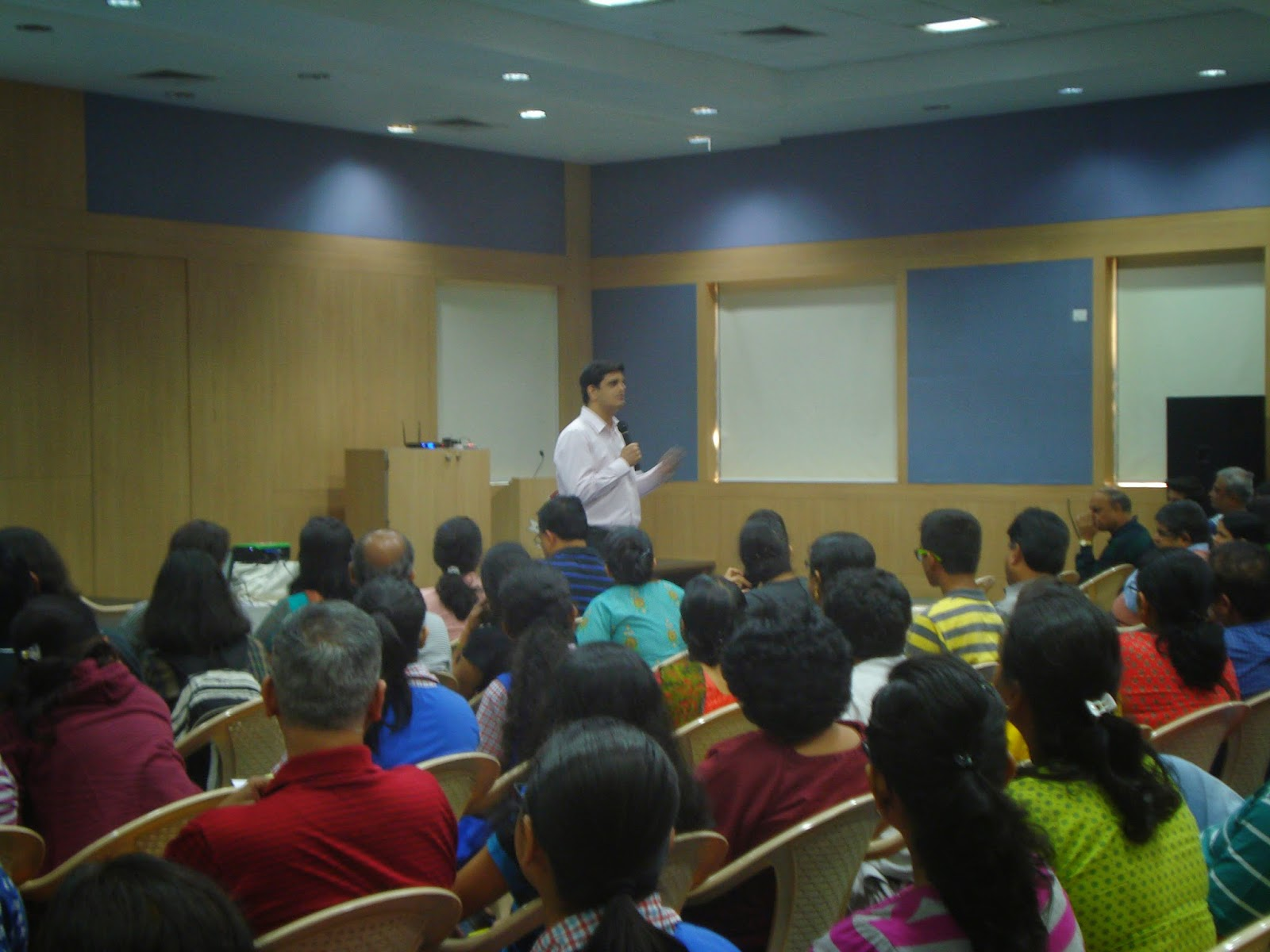 Career Guidance Session at Hiranandani Foundation School Thane