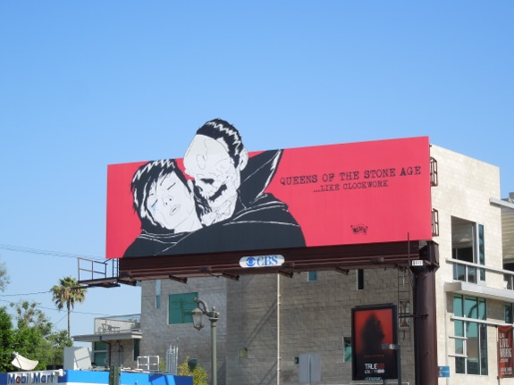 Queens Stone Age Like Clockwork billboard