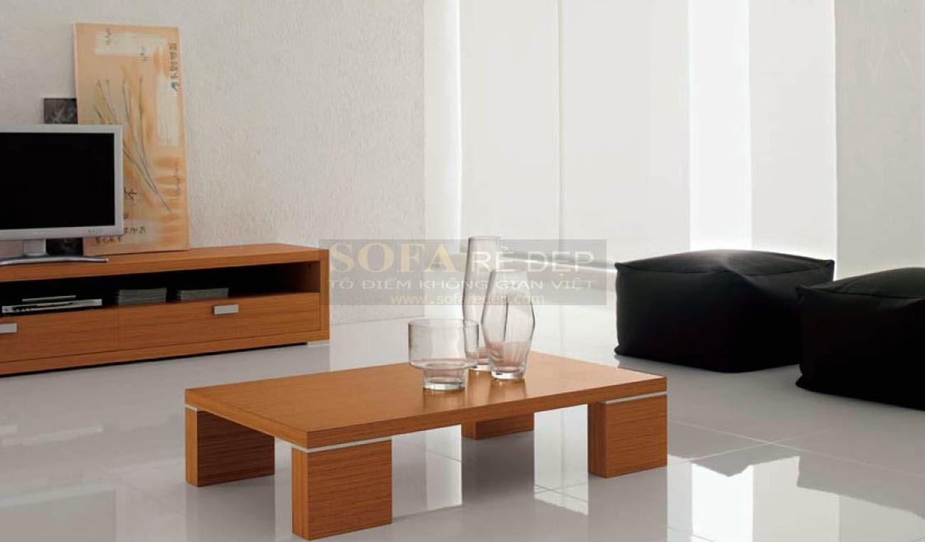 Bàn sofa gỗ BS055