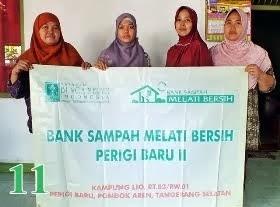 Bank Sampah Melati Bersih Perigi Baru II