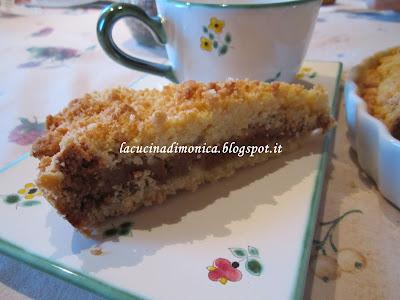 torta di ricotta e amaretti