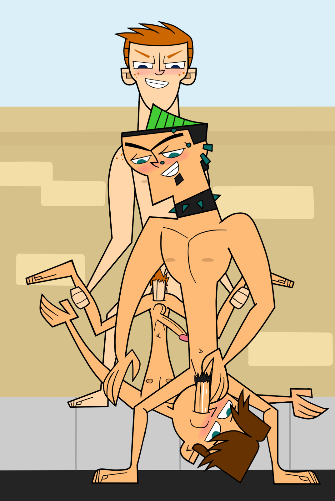 country from total drama nude