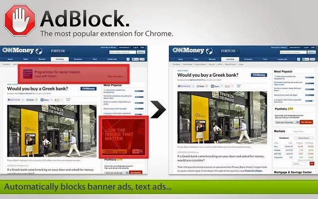Adblock Google Chrome Extension