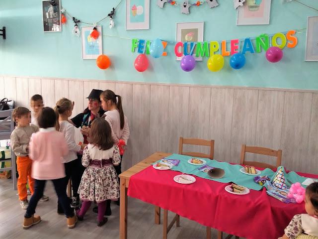 Cumpleaños en dulcería y heladería Sucre, en Huelva