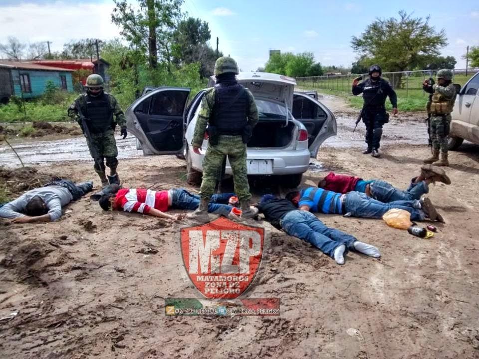 UNA PERSECUCIÓN EN # VALLEHERMOSO DETUVIERON A 5 CON ARMAS