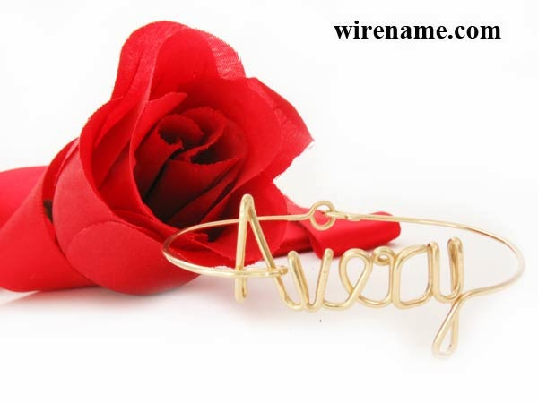 Personalized Bracelet in gold-filled wire