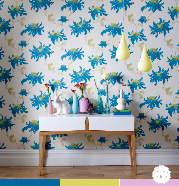 Bright bazaar take your pick julian macdonald wallpaper for Flutterby wallpaper