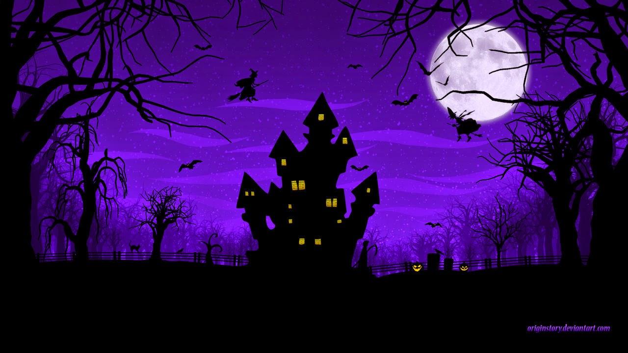 Download Wallpaper Halloween Spider - Happy_Halloween_2012-House-Trick-Treat-HD-Wallpaper1  HD_55312.jpg
