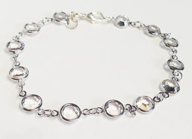 Crystal Rounds Bracelet Macee Leigh Swarovski Collection