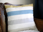 Strip Cushion Cover