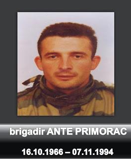 In memoriam: brigadir Ante Primorac
