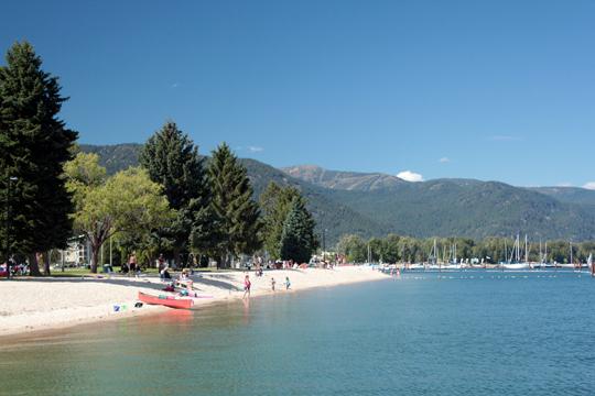 lake pend oreille beach