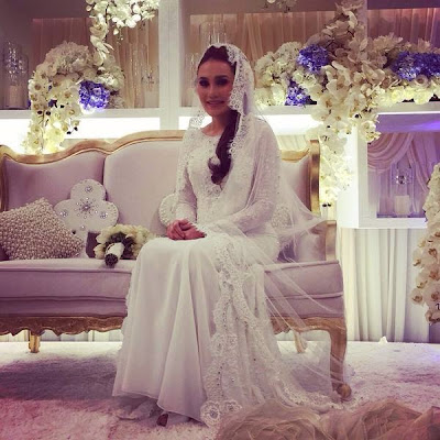 gambar kahwin fahrin ahmad