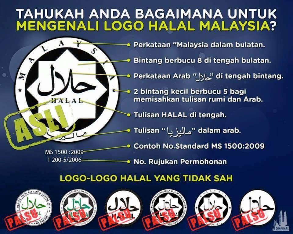 Logo Halal JAKIM Malaysia