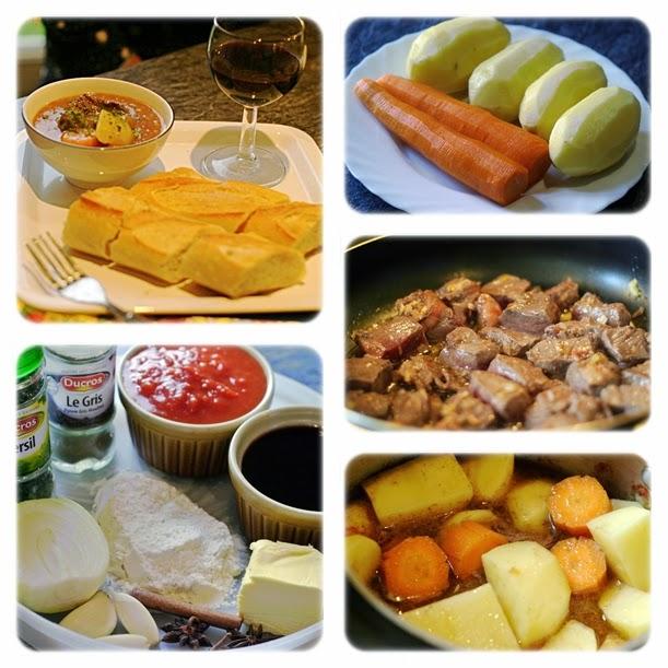 Cách nấu món thịt Bò sốt vang đúng vị đậm đà nhất 2