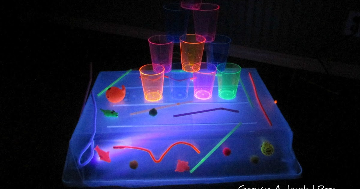 Black Light Sticky Table Growing A Jeweled Rose