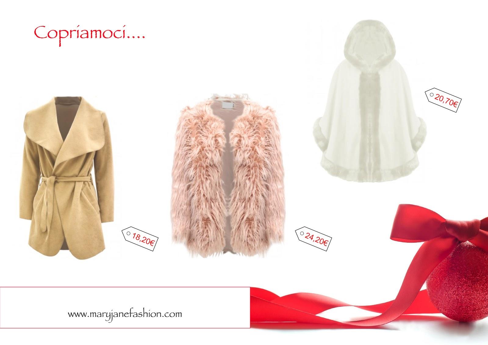 natale christmas 2015 mary jane fashion present regalo regali donna woman vestiti closet coat fur cappotto capodanno red fashion outfit style glamour