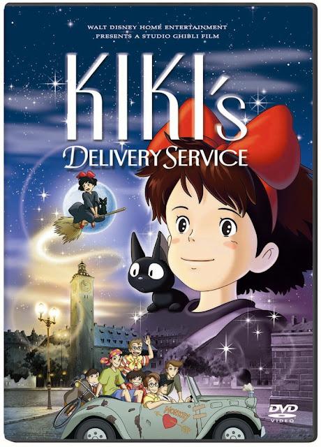 Majo no Takkyuubin Kiki's+Delivery+Service+(1989)+DVD