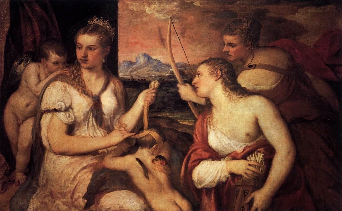 tiziano vecelli venus cupid