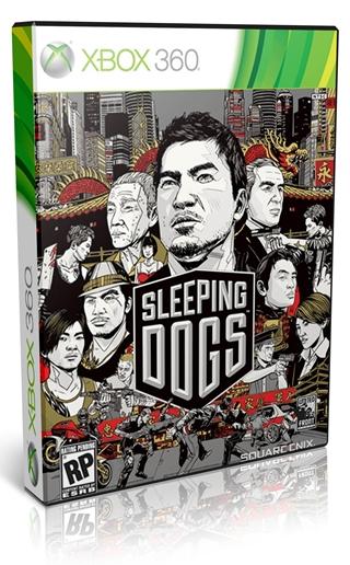 Sleeping Dogs Xbox 360 Español NTSC Descargar 2012 DVD9