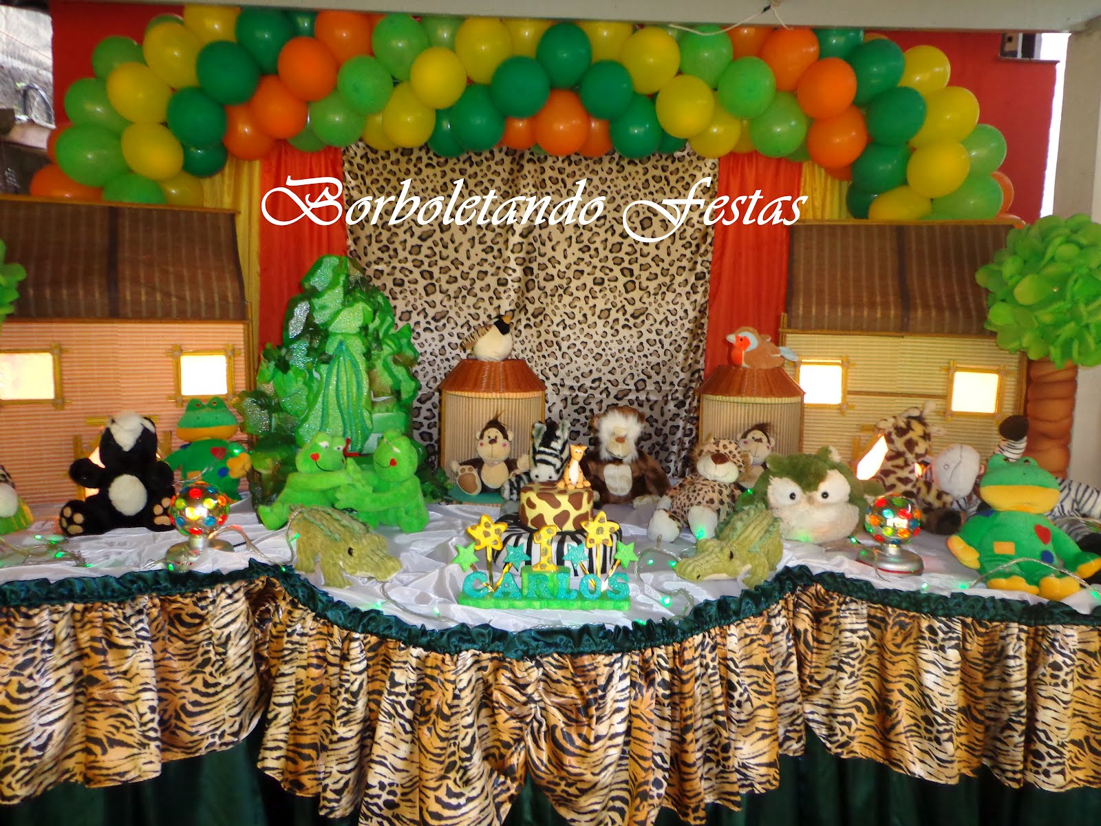 decoracao festa safari : decoracao festa safari:Decoracao Festa Safari Infantil