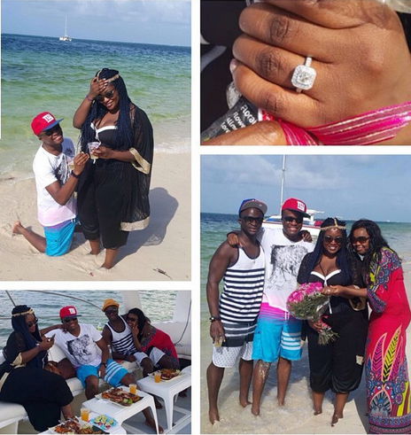 OAP Toolz  Oniru  is engaged to beau Captain Tunde Demerun