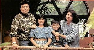 Rishi Kapoor Family Pics