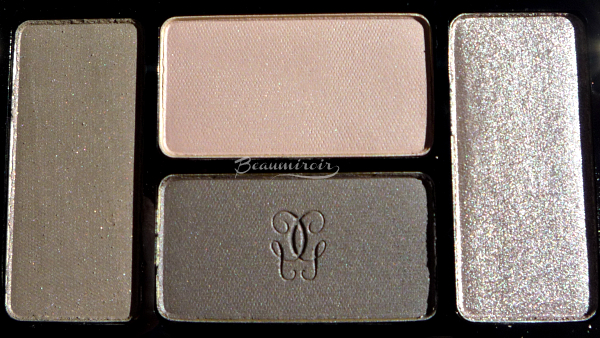 Guerlain Ecrin 4 Couleurs Les Fumes: closeup on the shadows
